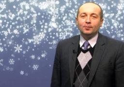 Костянтин Синьогуб привітав смілян з прийдешнім новорічним святом
