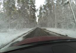 Мокрий сніг та сильний вітер в ніч на 11 грудня заблокували транспортні шляхи Черкащини
