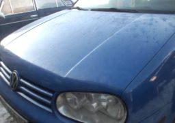 Влетів у копієчку: черкаський політик понівечив автівку на нечищеній дорозі