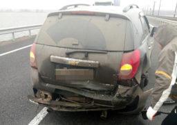 4 січня на дамбі трапилася ДТП: водій не дотримався безпечної дистанції