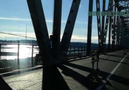 8 січня на черкаському мосту через Дніпро діяв реверс, але знову – жодного працівника