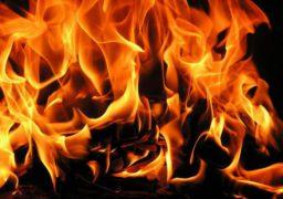 В Умані під час пожежі в технічному пункті теплотраси врятовано чоловіка