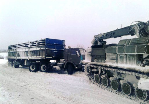 На Уманщині для подолання наслідків циклону залучили військову техніку