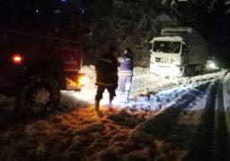 На Шполянщині рятувальники допомагали водіям,  які не могли самостійно подолати снігові замети