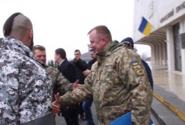 Герой України Сергій Шаптала зустрівся в Черкасах з побратимами із 128 -ї бригади
