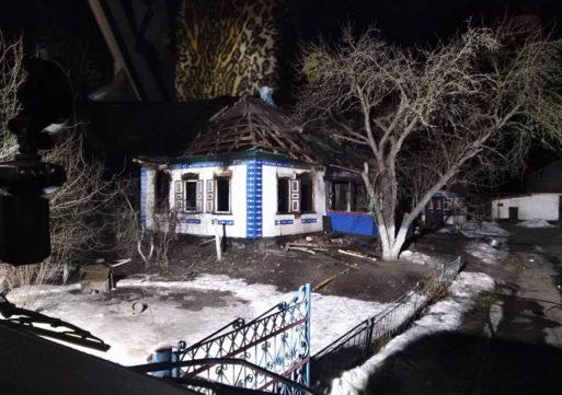 Літнє подружжя загинуло під час пожежі у власному домоволодінні