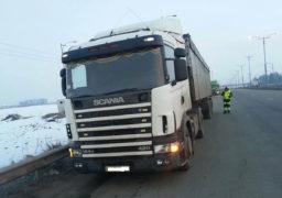 Трохи більше 8 тисяч гривень штрафу сплатив недобросовісний перевізник за перевищення вагових обмежень