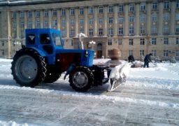 В останній день зими Черкаси відмінно прибрані від снігу