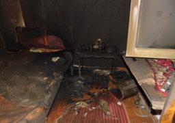 Під час пожежі в Малосмілянці загинула жінка