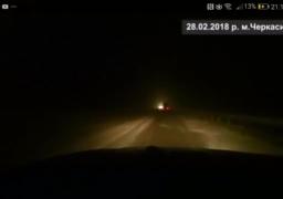 На дорогах Черкащини складні погодні умови.  Знов хуртовини