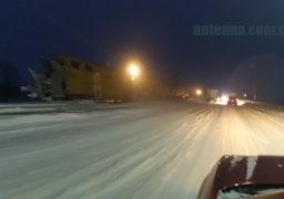 На Черкащину втретє вдарила стихія снігопади та ожеледь, на дорогах значне ускладнення руху