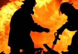 У Черкаському районі на пожежі ледь не загинув чоловік