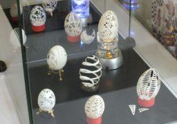 До Великодня в черкаському музеї відкрили виставку яєць