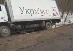 Поблизу села Деньги на Золотоніщині перекинулась вантажівка