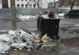 Ситуація з вивезенням сміття у Черкасах налагоджується