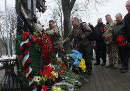 У Черкасах вшанували загиблих добровольців