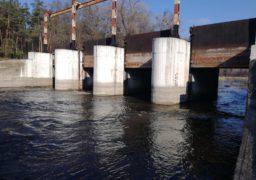 Рівень води в Золотоношці наближається до критичного