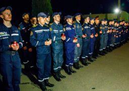 Вночі черкаські рятувальники вшанували пам᾽ять Героїв-ліквідаторів