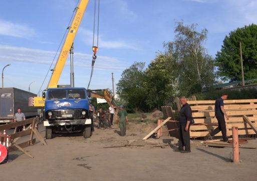 У Смілі ведеться ремонт аварійного каналізаційного колектора