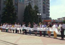 У Смілі відбулася акція «Рушник єднання»