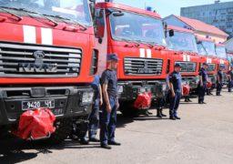 Черкаські пожежні отримали нові автомобілі