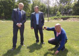 У Черкасах зірвано реконструкцію запасного футбольного поля