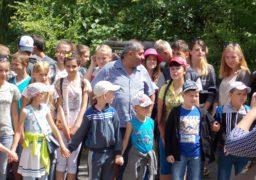 Черкаський меценат організував екскурсію дітям з Чигиринщини