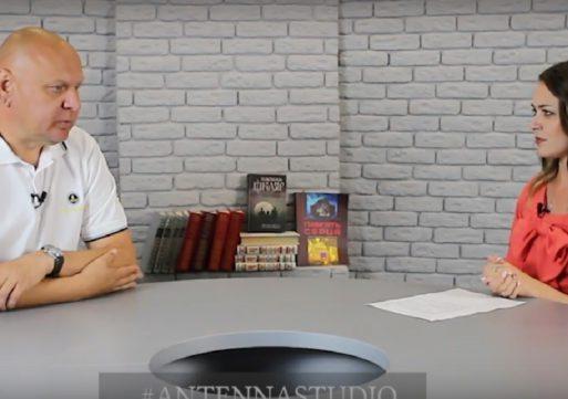 #ANTENNASTUDIO: Юрій Гончаров, директор КП «Центральний стадіон»