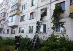 У Черкасах під час пожежі евакуювали 10 людей