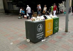У Черкасах проблеми із сортуванням сміття