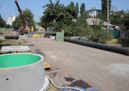 Черкасах проходить реконструкція головного каналізаційного колектора