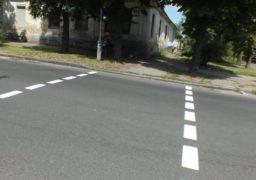 В Черкасах відновлюють дорожню розмітку на вулицях міста
