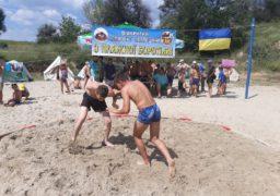 У Смілі пройшов чемпіонат з пляжної боротьби