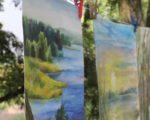 Черкаські художники виїхали на пленер до Трахтемирівського заповіднику