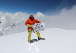 Черкаський альпініст підкорив одну з найвищих гір світу