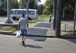 На черкаському перехресті можна зламати ноги і залишити колеса