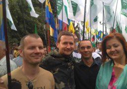 Черкаські активісти взяли участь у всеукраїнській акції під Верховною Радою