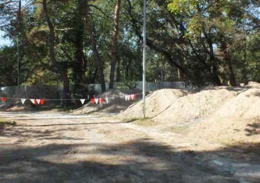 У парку «Сосновий Бір» встановлюють «Колесо огляду»