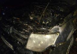 У Черкасах згоріла автівка депутата міськради