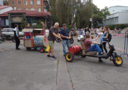 У Черкасах вдруге відбулися перегони на саморобних «тачках»