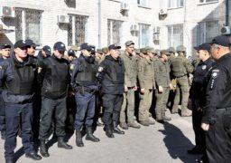 Черкаські поліцейські та нацгвардійці тренувалися конвоювати затриманих