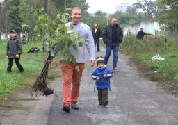 Смілянські активісти посадили дерева