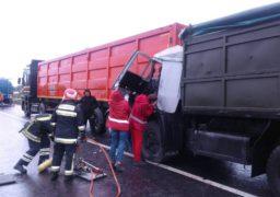 Рятувальники врятували водія вантажівки