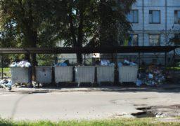 У Черкасах знову проблеми з вивезенням сміття