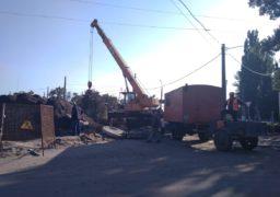Працівники «Черкасиводоканалу» оперативно ліквідували аварію на головному каналізаційному колекторі