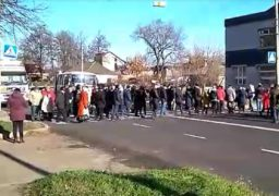 Терпець урвався: сміляни обмежили рух транспорту