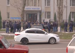 Під Черкаським Будинком правосуддя Нацкорпус влаштував акцію протесту