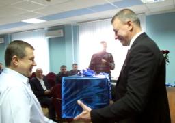 """Працівники ПАТ """"Черкасиобленерго"""" приймали вітання до професійного свята"""