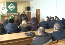 Зустріч депутата ВРУ Олександри Кужель з колективом ПрАТ «СМІЛАМАШ»