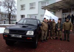 Черкаські енергетики відправили на передову бойовий автомобіль